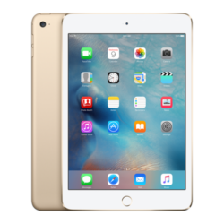 Apple iPad mini 4 Wi-Fi + Cellular 128GB Tablet PC, Gold
