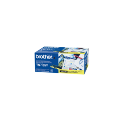 Brother Toner TN-135Y, Nagy töltetű - 4000 oldal, Sárga