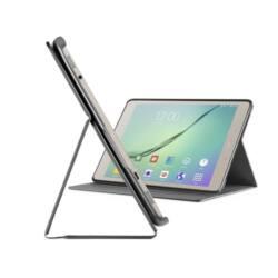 """Cellularline Tok, FOLIO, tablet, kitámasztható, Samsung Galaxy Tab S2 9,7""""(2016), fekete"""