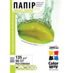 COLORWAY Fotópapír, fényes öntapadó (glossy self-adhesive), 135 - 80g/m2, A4, 50 lap