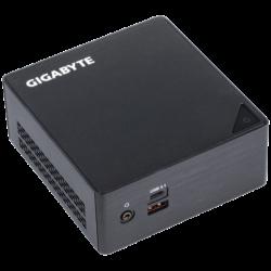 "GIGABYTE PC BRIX, Intel Core i5 7200U 3.1GHz, HDMI, MiniDisplayport, LAN, WIFI, BT, 2,5"" HDD hely, 2xUSB 3.0, 2xUSB 3.1"