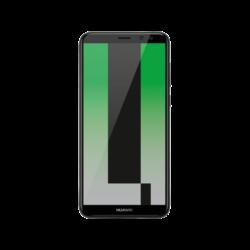 Huawei MATE 10 LITE Dual Sim, GRAPHITE BLACK (fekete), Okostelefon