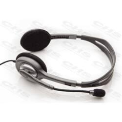 LOGITECH Fejhallgató H110, Mikrofon