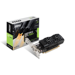 MSI Videokártya PCI-Ex16x nVIDIA GTX 1050 TI 4GT LP 4GB DDR5