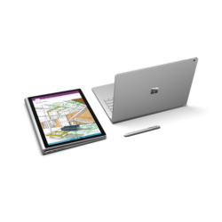 "Microsoft Surface Book 2 - 15"" - Core i7-8650U (8th Gen, GF GTX 1060 GPU w/6GB GDDR5) - 16 GB 512 GB Windows 10 Pro"