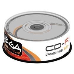 OMEGA-FREESTYLE CD lemez CD-R80 25db/Henger 52x