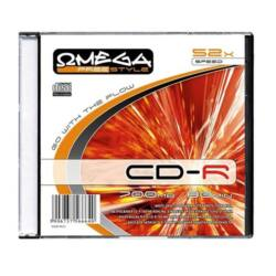 OMEGA-FREESTYLE CD lemez CD-R80 52x Slim tok