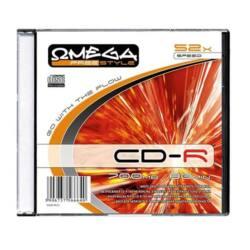 OMEGA-FREESTYLE CD lemez CD-R80 52x Slim tok
