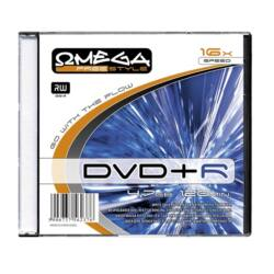 OMEGA-FREESTYLE DVD lemez +R 4.7GB 16x Slim tok
