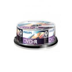 PHILIPS DVD Lemez -R 4.7GB 25db/Henger