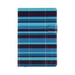"""SUMDEX PortCase Tablet tok TBL-470BS, univerzális, 7""""-8"""", Blue (csíkos)"""