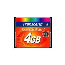 Transcend Memóriakártya CF 4GB 133X