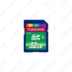 Transcend Memóriakártya SDHC 32GB Class 4