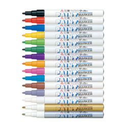 UNI Paint Marker Pen Fine PX-21 - Silver