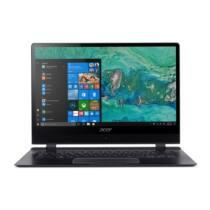 "ACER Swift 7 SF714-51T-M1F6 14"" IPS FHD Touch Intel Core i7-7Y75, 8GB, 256GB SSD, NoODD, Intel UHD 615, Win10, fekete"