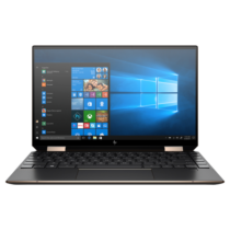 """HP Spectre x360 13-aw0010nh, 13.3"""" UHD OLED Touch, Core i7-1065G7, 16GB, 512GB SSD, Win 10, fekete"""