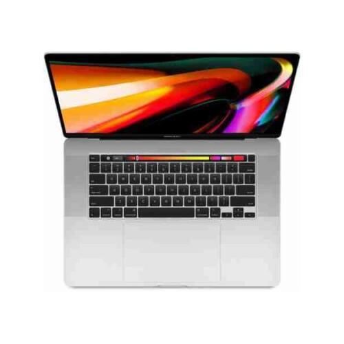 """APPLE MacBook Pro 16"""" Touch Bar/6-core i7 2.6GHz/16GB/512GB SSD/Radeon Pro 5300M w 4GB - Silver - HUN KB"""