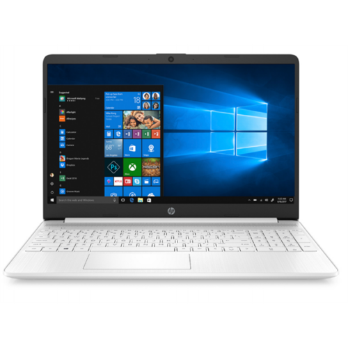 "HP 15s-fq1035nh, 15.6"" FHD AG, Core i3-1005G1, 4GB, 512GB SSD, Win 10, fehér"