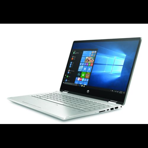 """HP Pavilion x360 14-dh1006nh, 14"""" FHD AG IPS, Core i7-10510U, 8GB, 512GB SSD, GF MX250 2GB, Win 10, ezüst"""