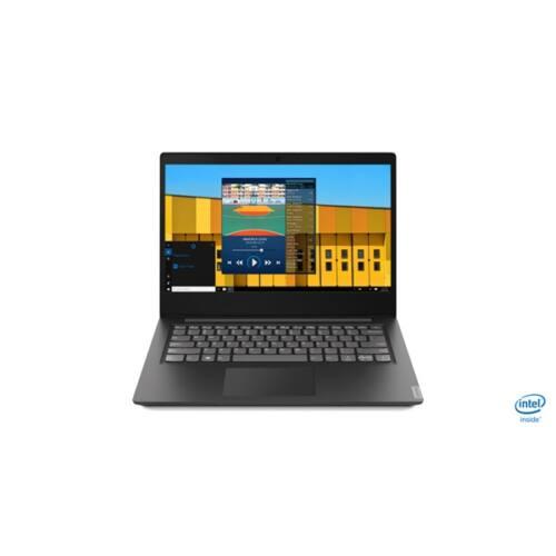 """LENOVO IdeaPad S145-14IWL, 14.0"""" HD, Intel Core i3-8145U, 4GB, 128GB M.2 SSD, Intel UHD Graphics 620, Win10, Black"""